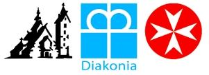 Logo Parafii Wang z diakonia i Joannitami nowe